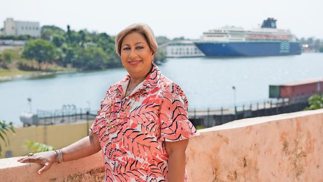 "Orfila Salazar: ""Visualizamos una gran temporada de cruceros para 2018-2019"""