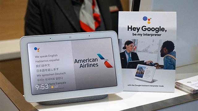 American Airlines, primera aerolínea en poner a prueba el modo intérprete de Google Assistant