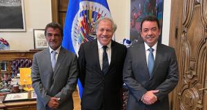 Secretario General de OEA recibe al Presidente de la ALAMI