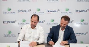 Aeropuerto PUJ y DP World Caucedo firman acuerdo de colaboración