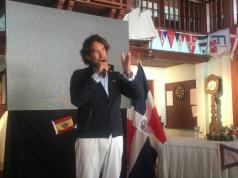 Marina de Casa de Campo recibe a Álvaro de Marichalar en su travesía mundial en moto acuática