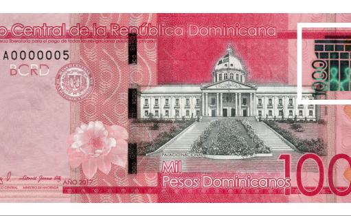Banco Central emite nuevo billete de RD$1,000 con isotipo de la identidad visual institucional