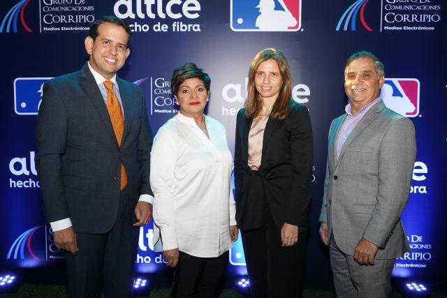 Altice y Grupo de Comunicaciones Corripio ofrecen detalles sobre comercialización de los juegos de la MLB