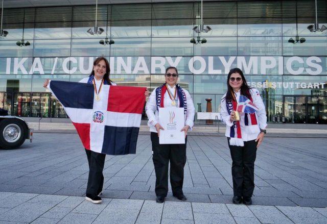 Dominicana gana medalla de oro en las olimpíadas culinarias