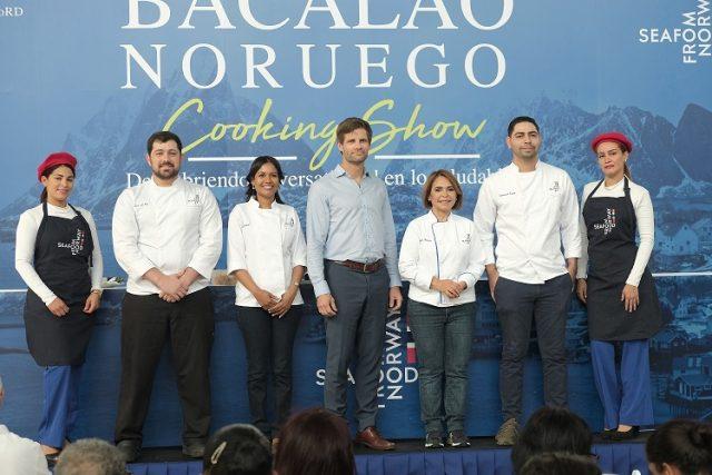 Realizan con éxito cooking show de Bacalao Noruego