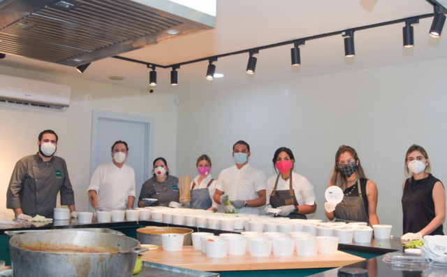 Fogones solidarios alimentarán a personas vulnerables en crisis de covid-19