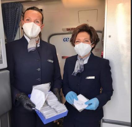 Air Europa refuerza medidas de seguridad