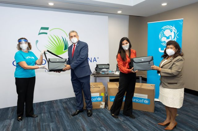 UNICEF y Grupo Puntacana entregan cuatro ventiladores al Servicio Regional de Salud Este