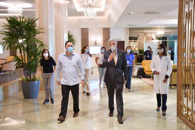 Autoridades supervisan aplicación protocolo en hoteles y otras empresas turísticas