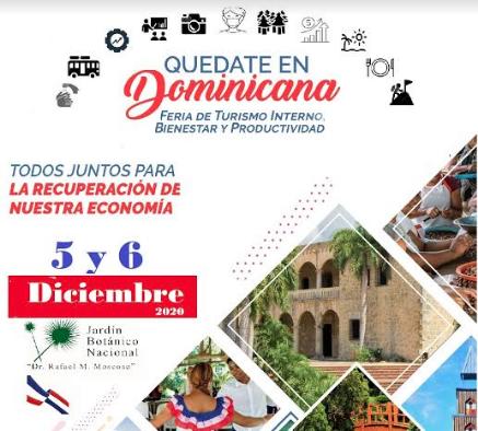 """Celebrarán Feria Turística """"Quédate En Dominicana"""""""