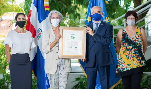 Unión Europea recibe certificación de Sostenibilidad 3Rs