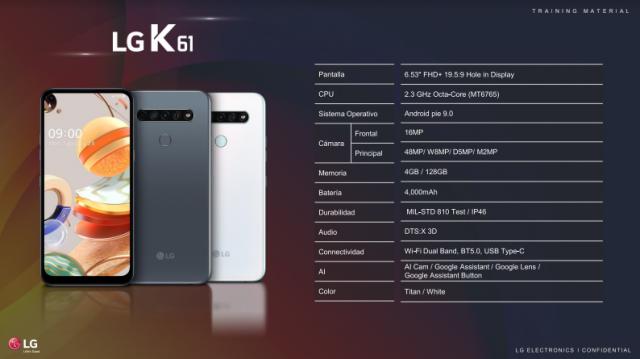 Claro y LG Electronics traen a Dominicana los nuevos celulares serie K