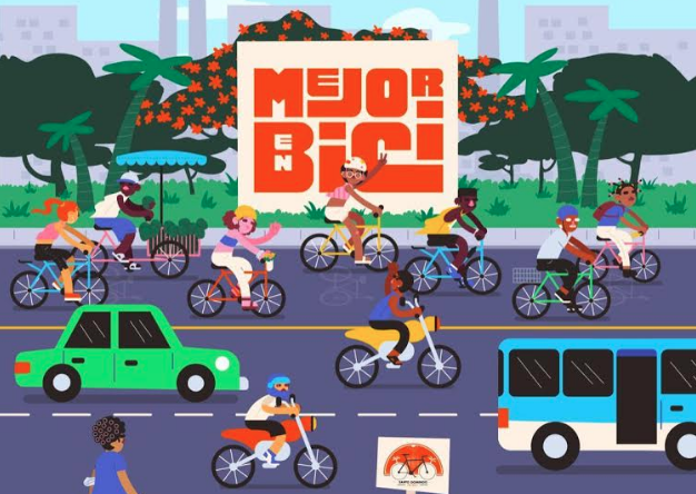 """La ciudad de Santo Domingo se vive """"Mejor en Bici"""""""