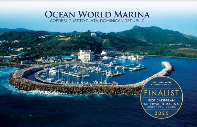 Ocean World Marina seleccionada finalista como mejor del Caribe por ACREW