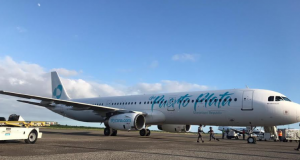 Sky Cana, la nueva línea aérea dominicana, recibe su primer avión Airbus A321