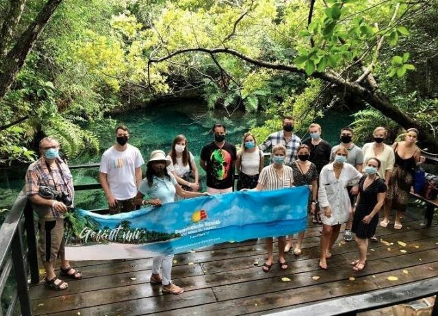 República Dominicana recibe grupo de comunicadores, Tour Operadores y Redes agencias de Alemania, Suiza y Austria