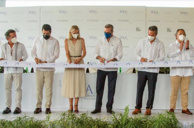 Presidente Luis Abinader inaugura Live Aqua Beach Resort Punta Cana, primer hotel de Grupo Posadas en República Dominicana