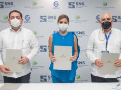 Fundación Grupo Puntacana e INCIVI firman acuerdo de colaboración con el Servicio Nacional de Salud