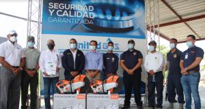 United Gas dona equipos de salvamentos al Cuerpo de Bomberos de la Zona turística en Punta Cana- Verón-Bávaro