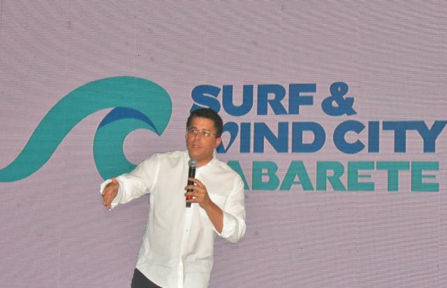 Ministro David Collado encabeza lanzamiento de Cabarete como capital del Wind and Surf City