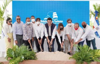 Ministro de Turismo deja iniciado trabajos en Macao con una inversión de 53 millones de pesos